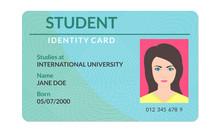 Student Id Card. University, S...
