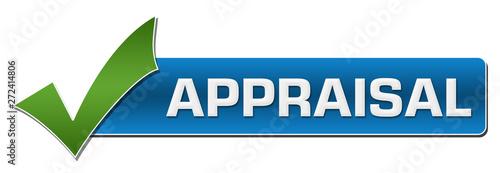 Appraisal Green Tick Mark Wallpaper Mural
