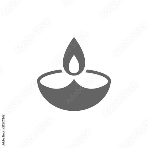 Diwali icon Billede på lærred