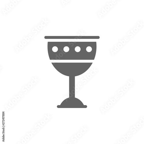 Obraz na plátne Goblet icon