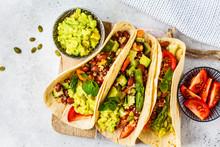 Vegan Tortillas With Quinoa, A...