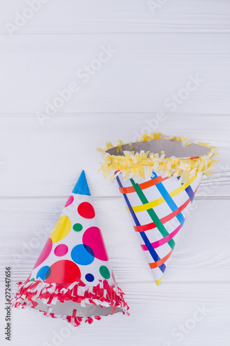 Fotografija Paper cone hats for kids costume party