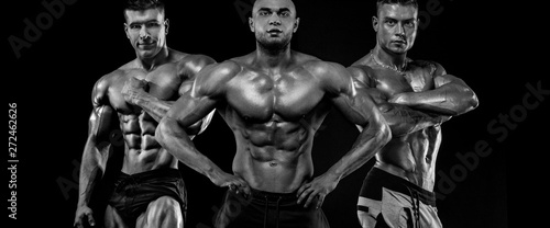 Fotografía  Bodybuilding competitions on the scene