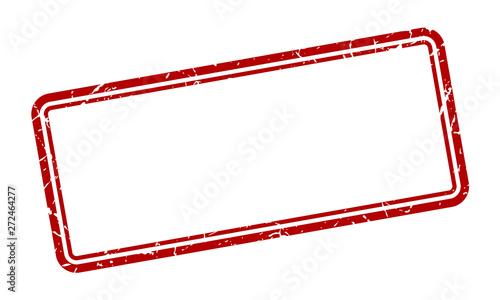 Fotografia blank stamp