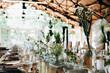 canvas print picture - Wedding decoration and floristics, wedding design