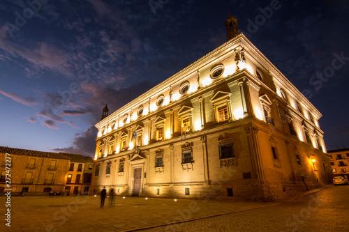 Ciudad de Úbeda (Jaén) Patrimonio de la Humanidad Canvas Print