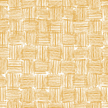 Vector Wicker Texture. Hand Drawn Grunge Style Weaving Seamless Pattern. Great For Fabric, Packaging And Wrapping Paper.