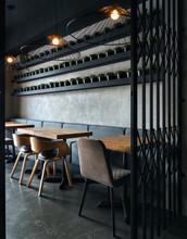 Creative Interior Of Restauran...