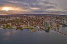 Kingston Is A Canadian Town On The Shore Of Lake Ontario With A Large University And Hospital