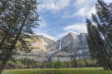 Spring Time In Yosemite Valley