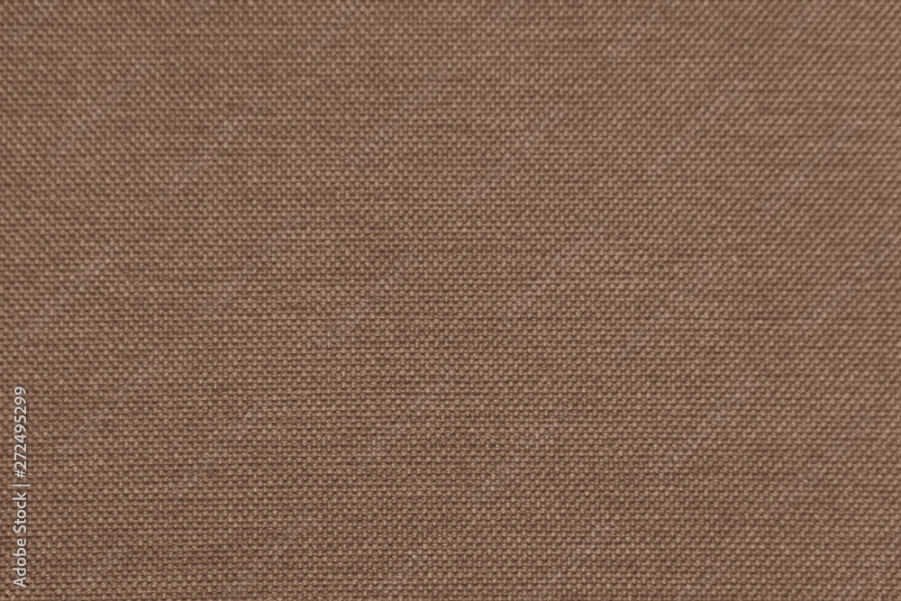 Fototapety, obrazy: Rough brown fabric texture for background and design