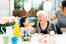 Grandmother's Birthday Party