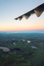 Early Morning Flight, North Island, New Zealand