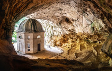 Church Inside Cave In Italy - ...