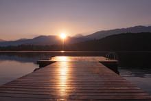 Summer Morning At The Lake