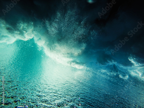 Wave explosion abstract