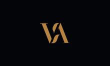 VA Logo Design Template Vector Illustration