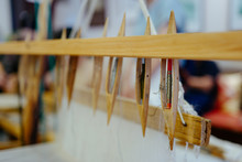 Wooden Looms For Chinese Silk Tapestry