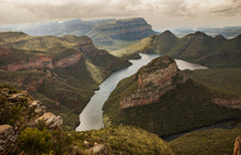 The Three Rondavels In South Africa