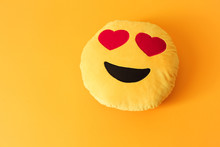 Yellow Background Smiley Smile...