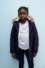 Portrait Of Cool Black Kid.