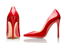 Red High Heel Footwear Fashion...