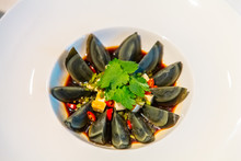 Chinese Cuisine. Black (centen...