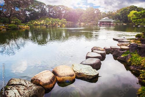 Fotografie, Obraz  kiyosumi   Teien garden -    with artificial pond