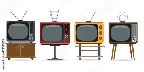Fotomural  Vintage television set