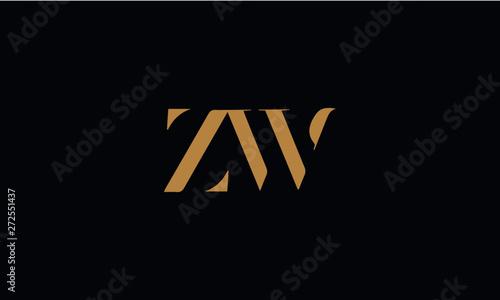 Fotografia, Obraz ZWlogo design template vector illustration
