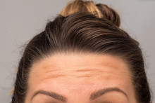 A Closeup View On The Eyebrows...