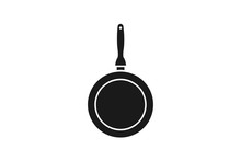 Frying Pan Icon Simple Element Illustration Can Be Used For Mobile And Web