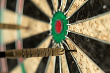 A Dart Missing The Bulls Eye, ...