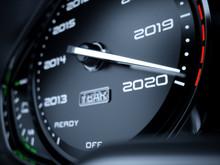 2020 Year Car Speedometer