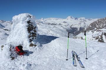 ski de randonnée dans le Grand Paradis