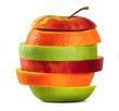 fruit mix. vitamin. healthy eating.