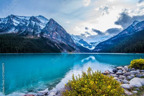 Valokuva  Beautiful Nature of Lake Louise in Banff National Park, Canada