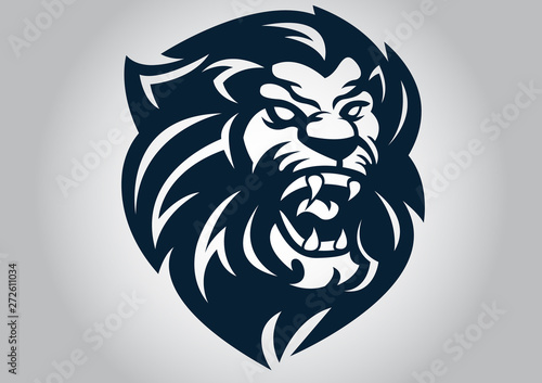 Fototapety, obrazy: lion, tattoo, animal, design, tribal, illustration, art, vector, symbol, abstract, isolated, drawing, fish, decoration, black, cartoon, white, phoenix, tiger, style, bird, cat, china, logo, head