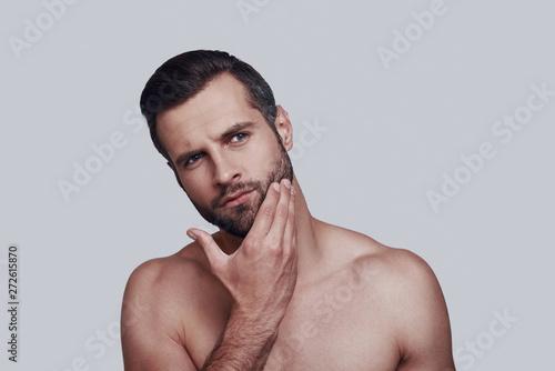 Obraz na płótnie Time to shave