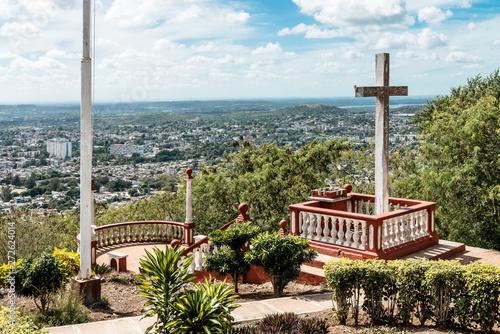 Photo Kuba, Holguin;  Der Berg des Kreuzes,   Loma de la Cruz  .