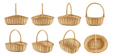Set Of Wicker Picnic Baskets S...