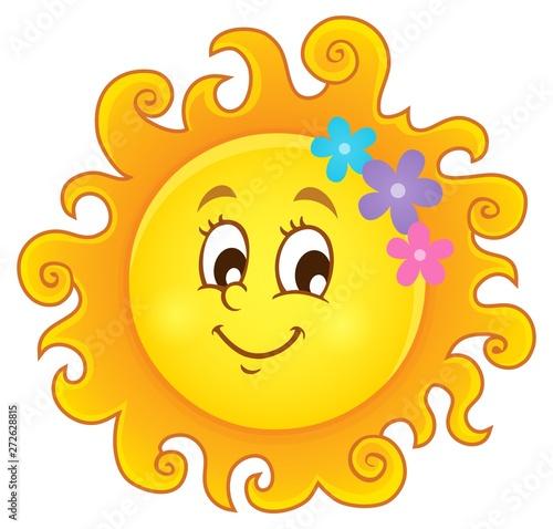 Poster Enfants Happy spring sun theme image 3