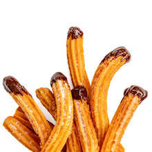 Churros - Fried Dough Pastry W...