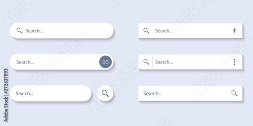 Fotografía  Search Bar for ui, design and web site