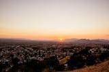 Fototapeta Na sufit - Sunset view from Mirador de San Miguel, Granada, Spain