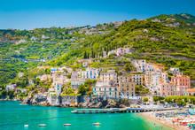 Town Of Amalfi, Amalfi Coast, Campania, Italy