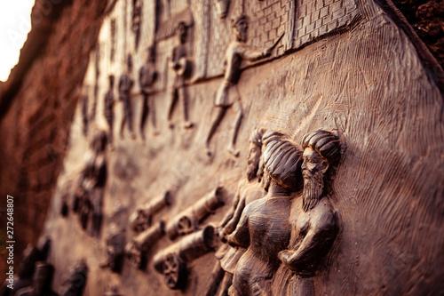 Fotografie, Obraz  Historical sculpture. 1600 AD
