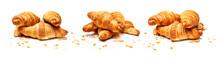 Französische Croissants Isoli...