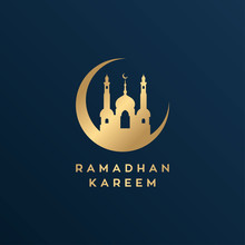 Mosque Line / Ramadan Theme De...