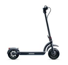 Black Scooter. Urban Transport...
